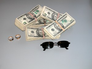You'll also be able to leave piles of money just lying around.