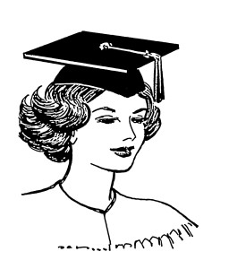 Once you toss up that mortarboard, your high school persona is gone
