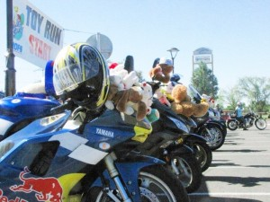 Even motorcycling can help charities in the right circumstances