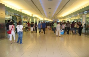 The mall will be much more crowded and crazy come Black Friday