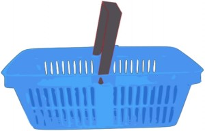 You'll get used to seeing basket icons that look like this before long